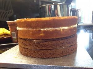 tarta de chocolate sin gluten paso 1