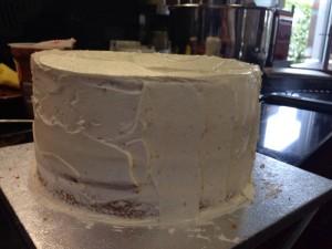 tarta de chocolate sin gluten paso 2