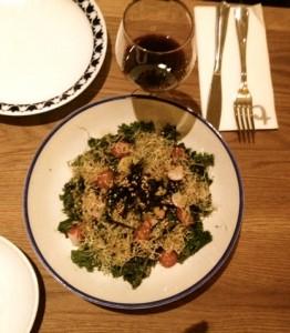 Flax & Kale sin gluten ensala