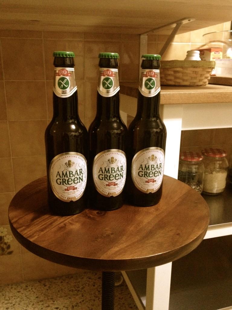 cerveza sin alcochol y sin gluten