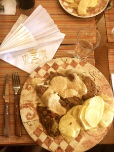 Comida Jerez sin gluten