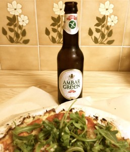 Pizza fit sin gluten & beer