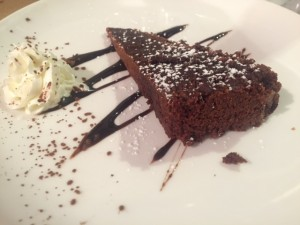 messié sin gluten Barcelona pastel chocolate