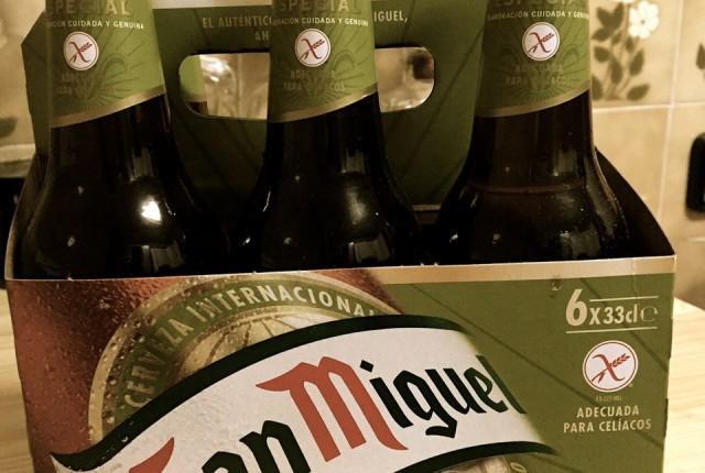 cerveza sin gluten san miguel